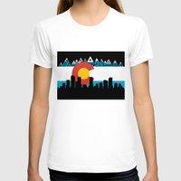 colorado T-shirts featuring COLORADO by Love Life Creative