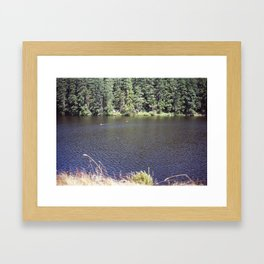 Cranberry Lake Framed Art Print