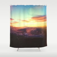 rogue Shower Curtains featuring Planet Rogue by Daniel Montero