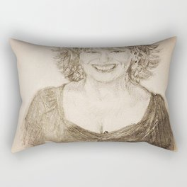 Joy Behar Rectangular Pillow