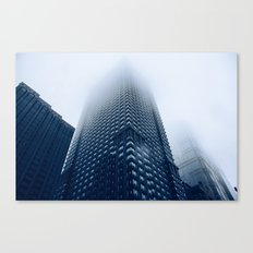 'Foggy Leo' Canvas Print
