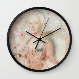 Marie Antoinette 7up Wall Clock