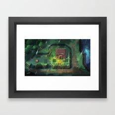 Zelda - A Link to the Past Framed Art Print