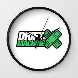 Drift Machine v5 HQvector Wall Clock