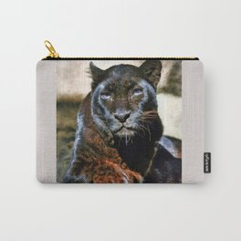 The Black Leopard Carry-All Pouch