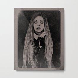 Plague church Metal Print
