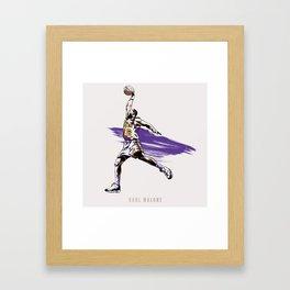 Karl Malone Framed Art Print