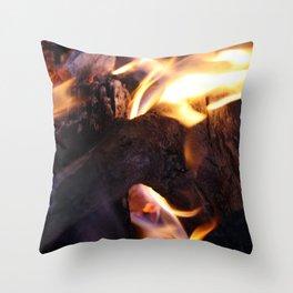 Ablaze Throw Pillow
