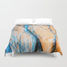 It's All Just A Crazy Blur To Me.... Duvet Cover