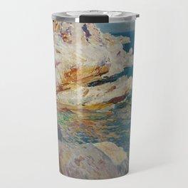 Joaquin Sorolla y Bastida, Rocks of Javea, 1905 Travel Mug