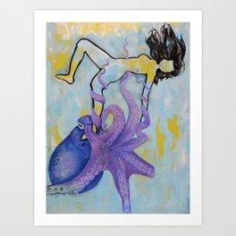 The Everglow Art Print
