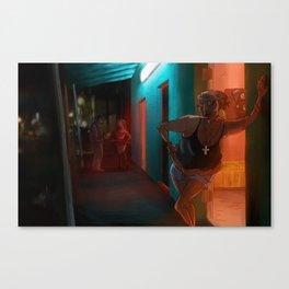 La Zona Canvas Print