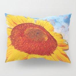 Hello Sun Sunflower  Art Pillow Sham