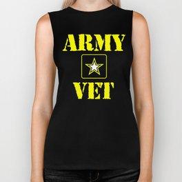 Army Veteran Shirt Biker Tank