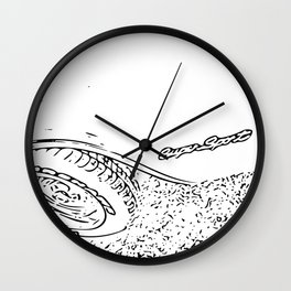 Super Sport Wall Clock