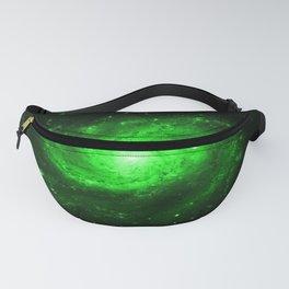 Spiral gAlaXy. Green Fanny Pack