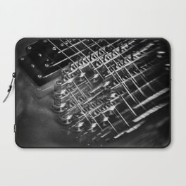 Playing around with an electric guitar Laptop Sleeve
