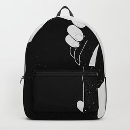 Loneliness by Line Art. Backpack