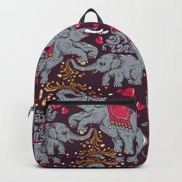 Thai Elephants Family Backpack