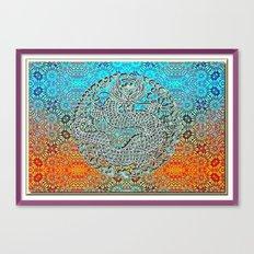 Dragon Garden 2 Canvas Print