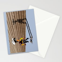 OUUUPS! - wooden wall version Stationery Cards