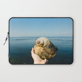 Moon Snail Laptop Sleeve