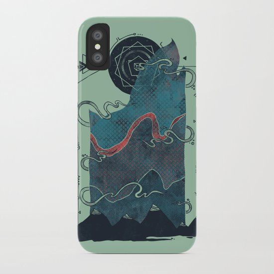 Northern Nightsky iPhone Case