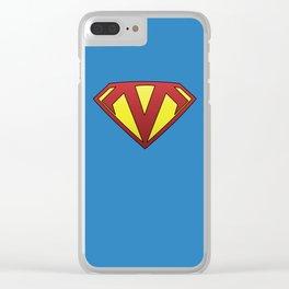 Supermangler Clear iPhone Case