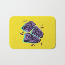 Favourite Food - Yellow by Chrissy Curtin Bath Mat
