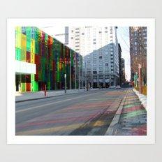Palais de Congrès, Montreal, Canada.  Art Print
