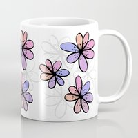 cherry blossoms Mugs featuring Cherry Blossoms by Kara Peters