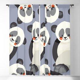 Giant Panda, Animal Portrait Blackout Curtain