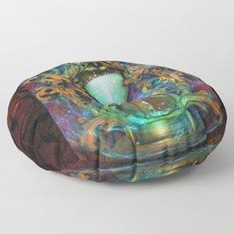 Hourglass Floor Pillow