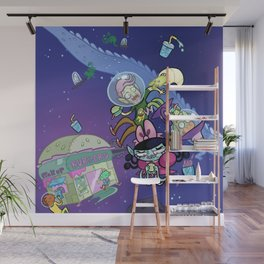 Luna the Vampire - Snack time! Wall Mural