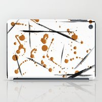 black and gold iPad Cases featuring black & gold by Jecca All