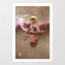 Good Luck Charm Art Print