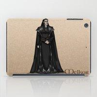 valar morghulis iPad Cases featuring Melkor by wolfanita
