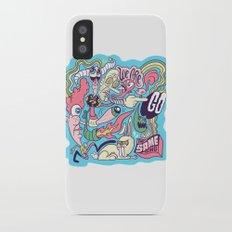 Doodle #2389 iPhone X Slim Case