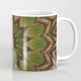 Greenwitch // Visionary Art Healing Energy Mandala Celtic Witch Earth Forest Coffee Mug