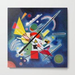 Wassily Kandinsky - Blue Painting - Abstract Art Metal Print