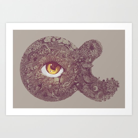 looking for Non-Infinity Art Print