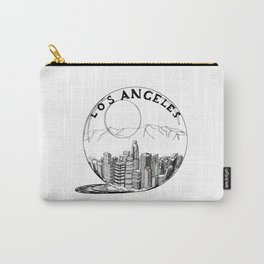Los Angeles City in a Glass Ball Carry-All Pouch