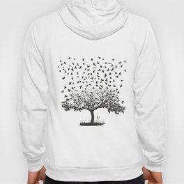 Crows in a tree Hoody