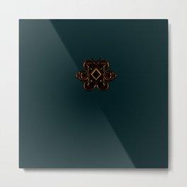 Royal V/X: Luxe Series Metal Print