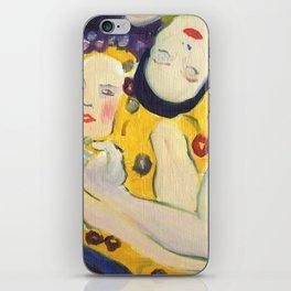 Klimt Girls iPhone Skin