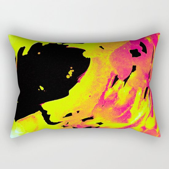 Solar Flare Wave Rectangular Pillow