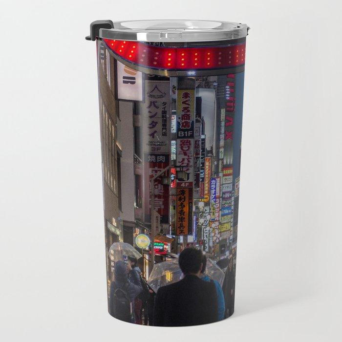 Tokyo Streets Travel Mug
