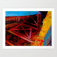 tredegar ironworks Art Print