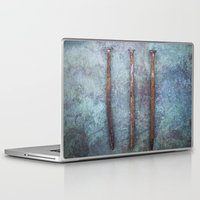 three of the possessed Laptop & iPad Skins featuring Three by Maria Heyens