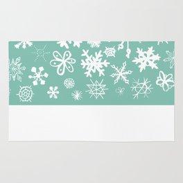 Snowflake Pond Rug